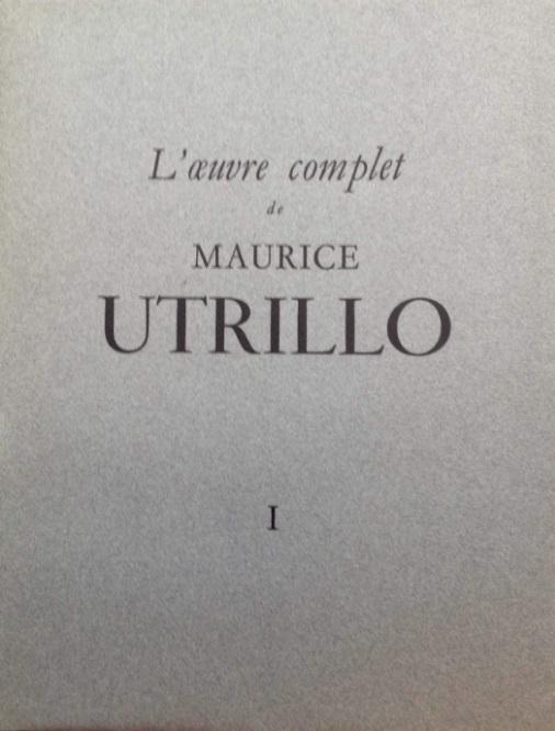 53 Maurice Utrillo Obra de Vol I II III IV V